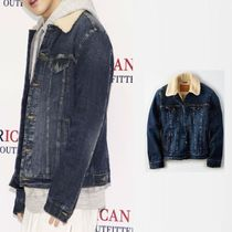 American Eagle Outfitters(アメリカンイーグル) ジャケットその他 [American Eagle Outfitters] [Men] Sherpa denim jacket