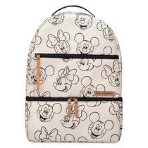 ◎送料込◎ Mickey and Minnie Mouse Sketch Backpack -