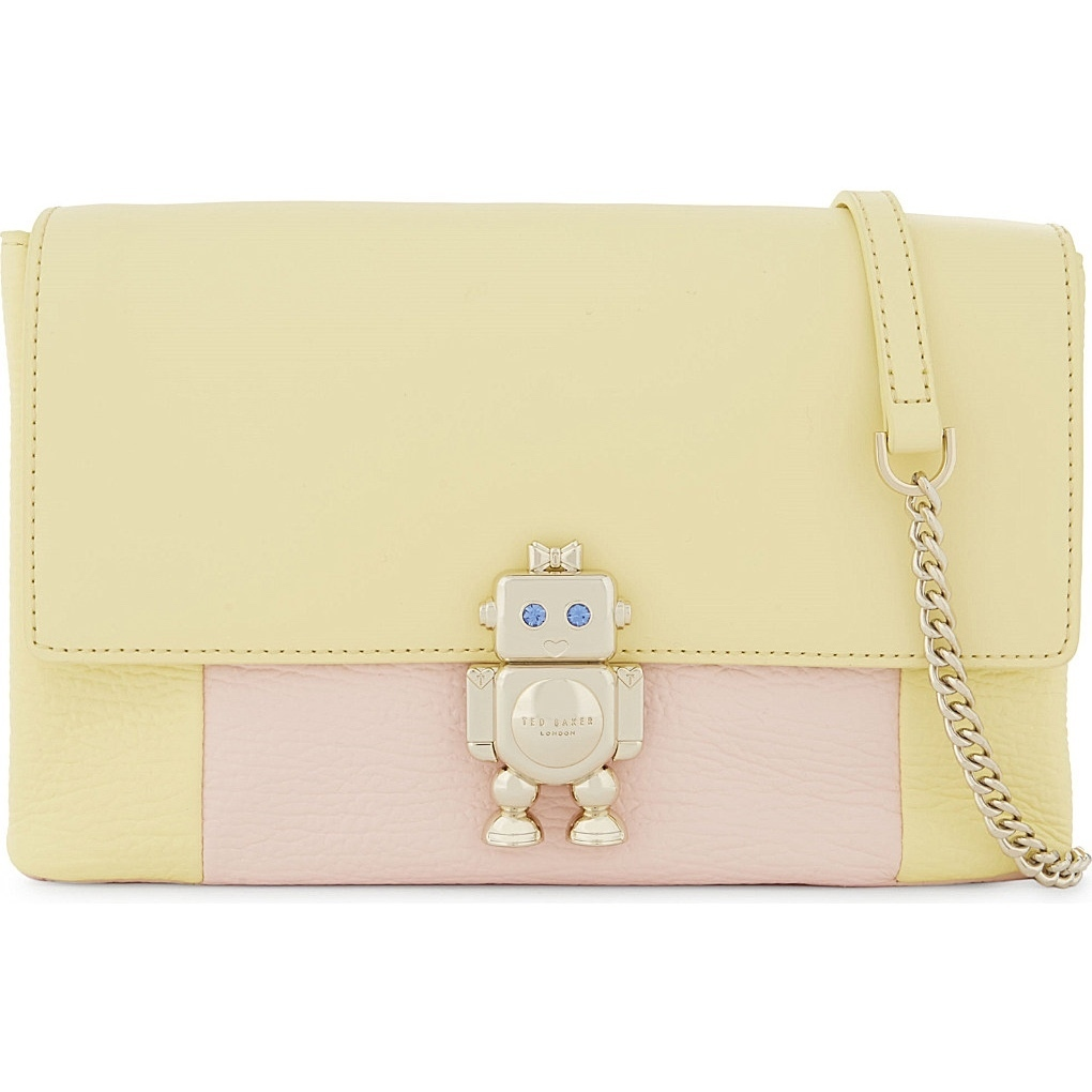 【TED BAKER】レザーショルダー☆Robot leather cross-body bag