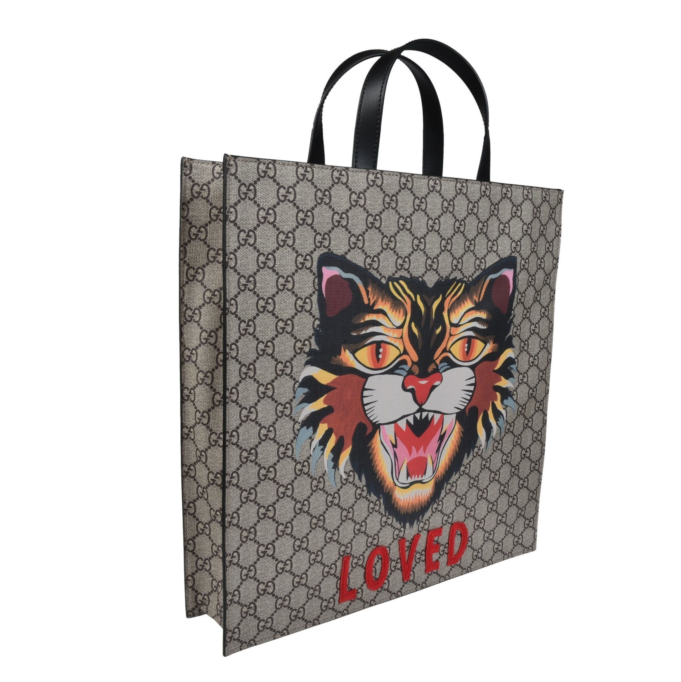 GUCCI(グッチ)猫のショッパーバッグ