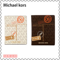 【Michael Kors】Air Mail Leather パスポートケース★(正規)