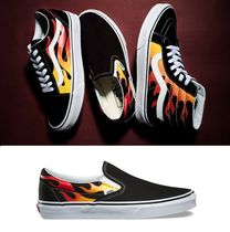 ★VANS☆CLASSIC SLIP ON FLAME PACK(23-29cm) フレイム パック