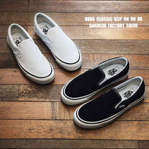 VANS★ANAHEIM FACTORY CLASSIC SLIP ON 98 DX★スウェード★2色