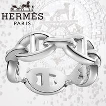 HERMES エルメス Chaine d'Ancre Enchainee リング シルバー