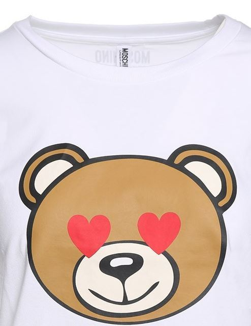 ◆◆VIPセール◆◆  Moschino 'Teddy Bear ' コットン Tシャツ