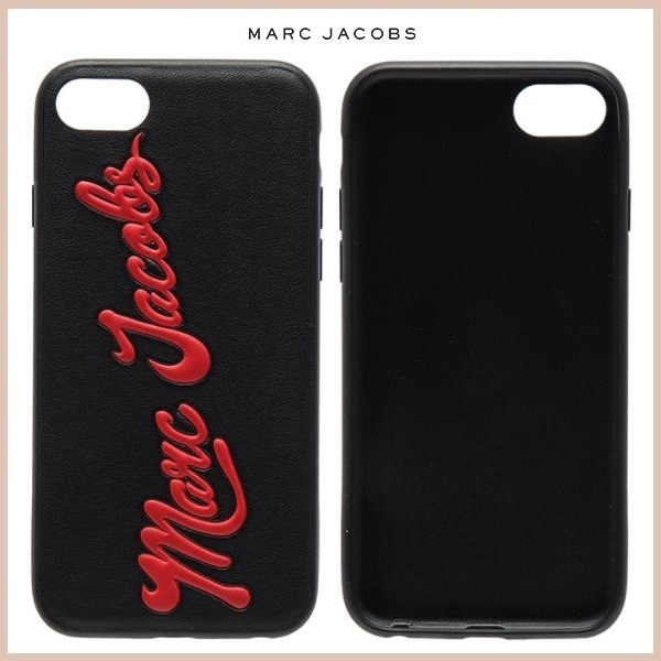 MARC JACOBS GLOSSY MARC ロゴ☆iPhone7ケース
