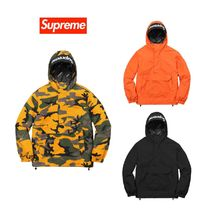 Week10 FW17 Supreme Hooded Logo Half Zip Pullover シュプ