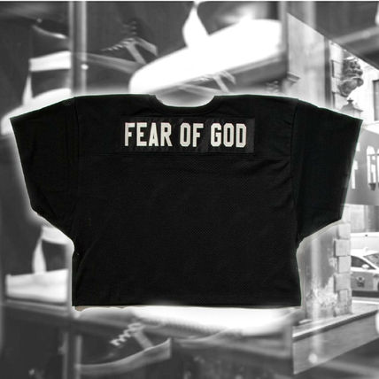 **FEAR OF GOD** Mesh Football Jersey ロゴジャージFear of God
