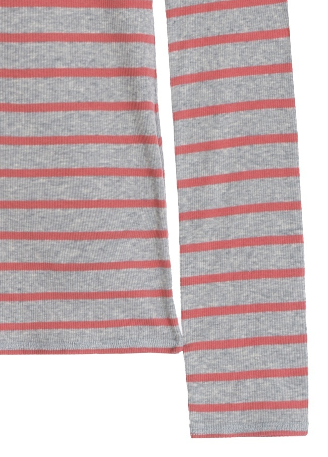 Tommy Hilfiger正規品★Women's Striped Neck T-Shirt★送料込