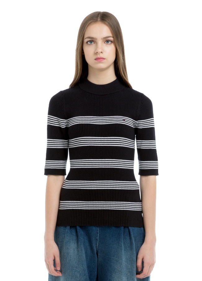 Tommy Hilfiger正規品★Women's Stripe Knit Sweater★送料込