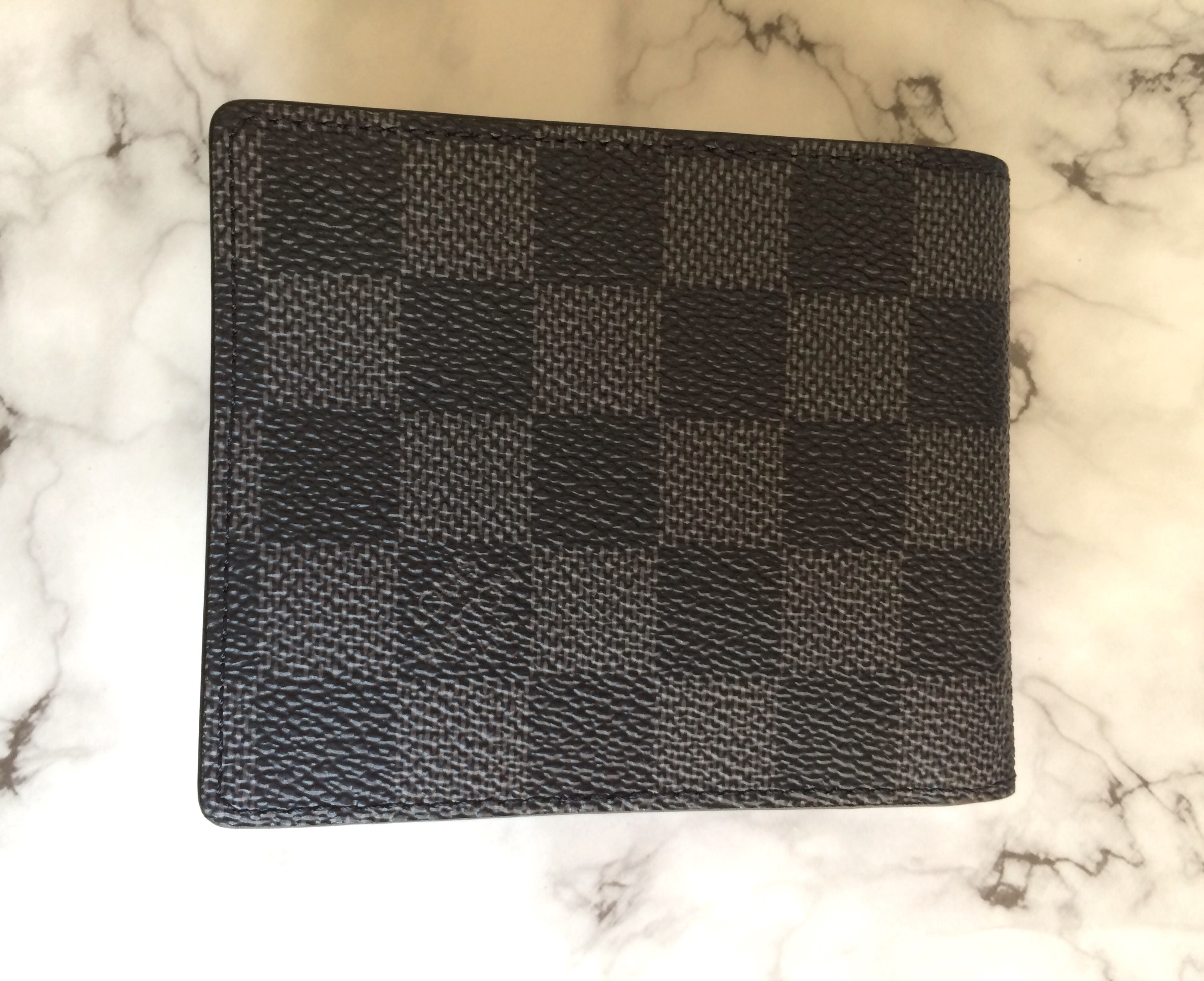 【LOUIS VUITTON】ダミエグラフィット マネークリップ付 財布
