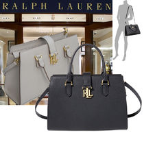即発!特別価格!Ralph Lauren Brigitte II Medium Satchel 2色