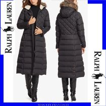 【RL】限定SALE至急注文★Faux Fur Maxi Down Coatダウンコート