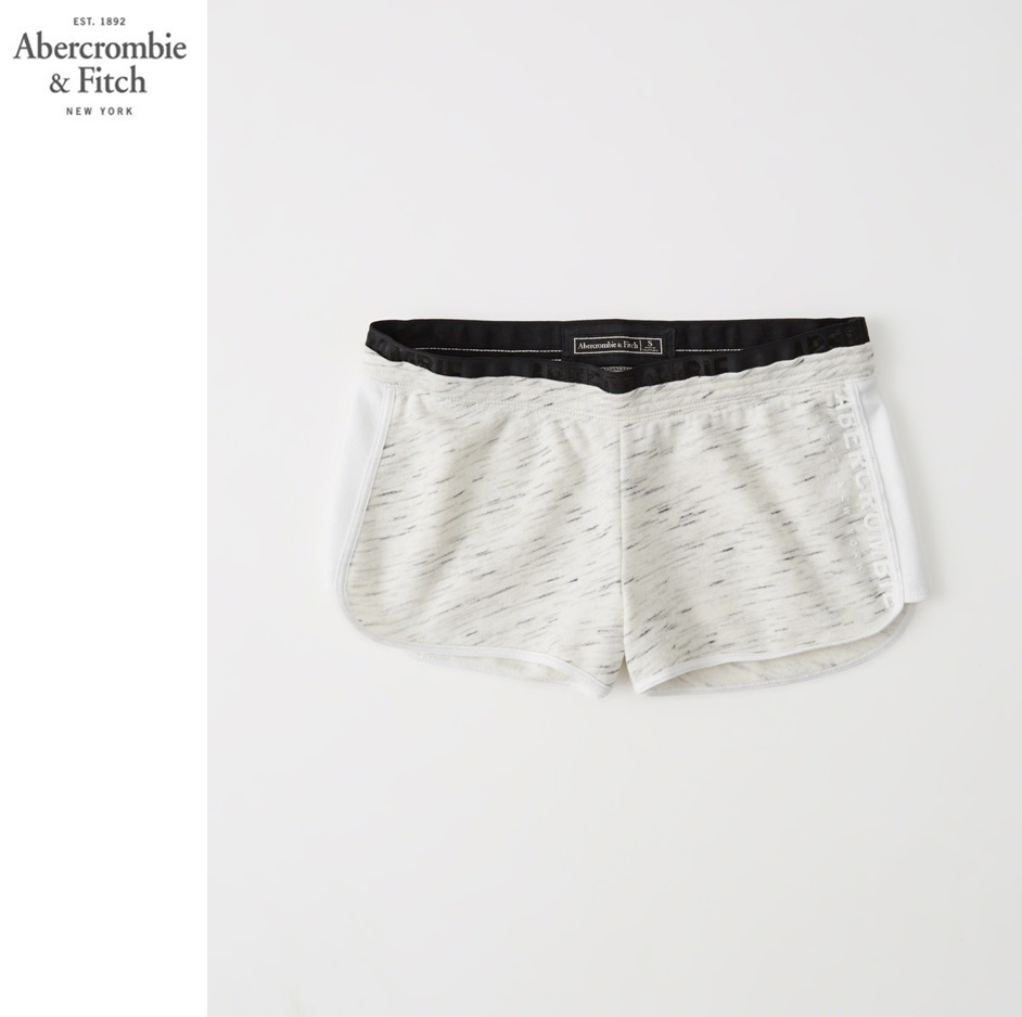 ★即発送★在庫あり★A&F★LOGO GRAPHIC ACTIVE FLEECE SHORTS★