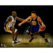 """Autographed NBA Warriors Stephen Curry 16"""" x 20"""" Photograph"""