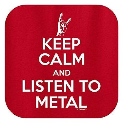 buyma keep calm and listen to metal tシャツ us メンズ 7色 s 3xl