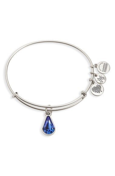 送料関税込★Alex and Ani Birthstone Adjustable  ブレスレット