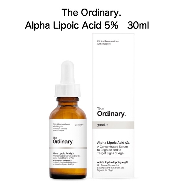 The Ordinary Alpha Lipoic Acid 5% 30ml 1個 αリポ酸
