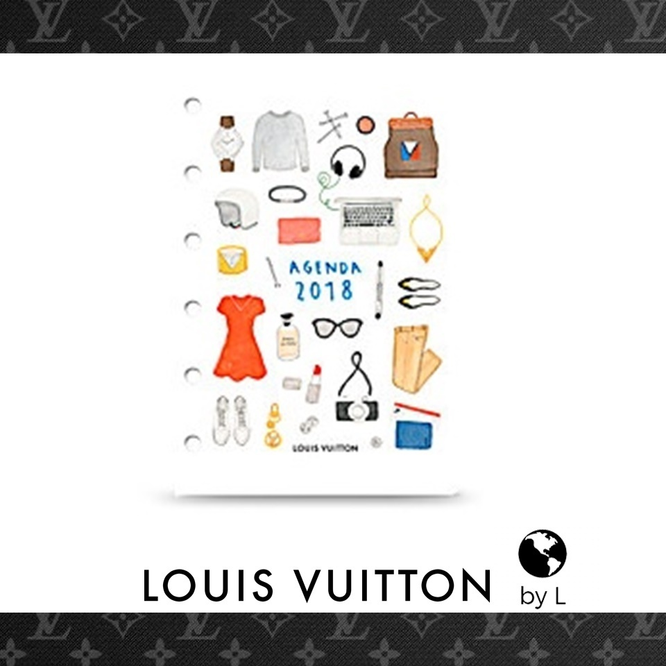 LouisVuitton2-5日ダイアリーのみレフィル 1日1P (PM用)2018年版