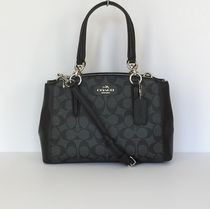 【COACH】新色☆シグネチャーMINI CHRISTIE CARRYALL 2wayバッグ