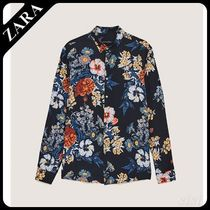 ☆ Men's ZARA☆ FLORAL VISCOSE SHIRT