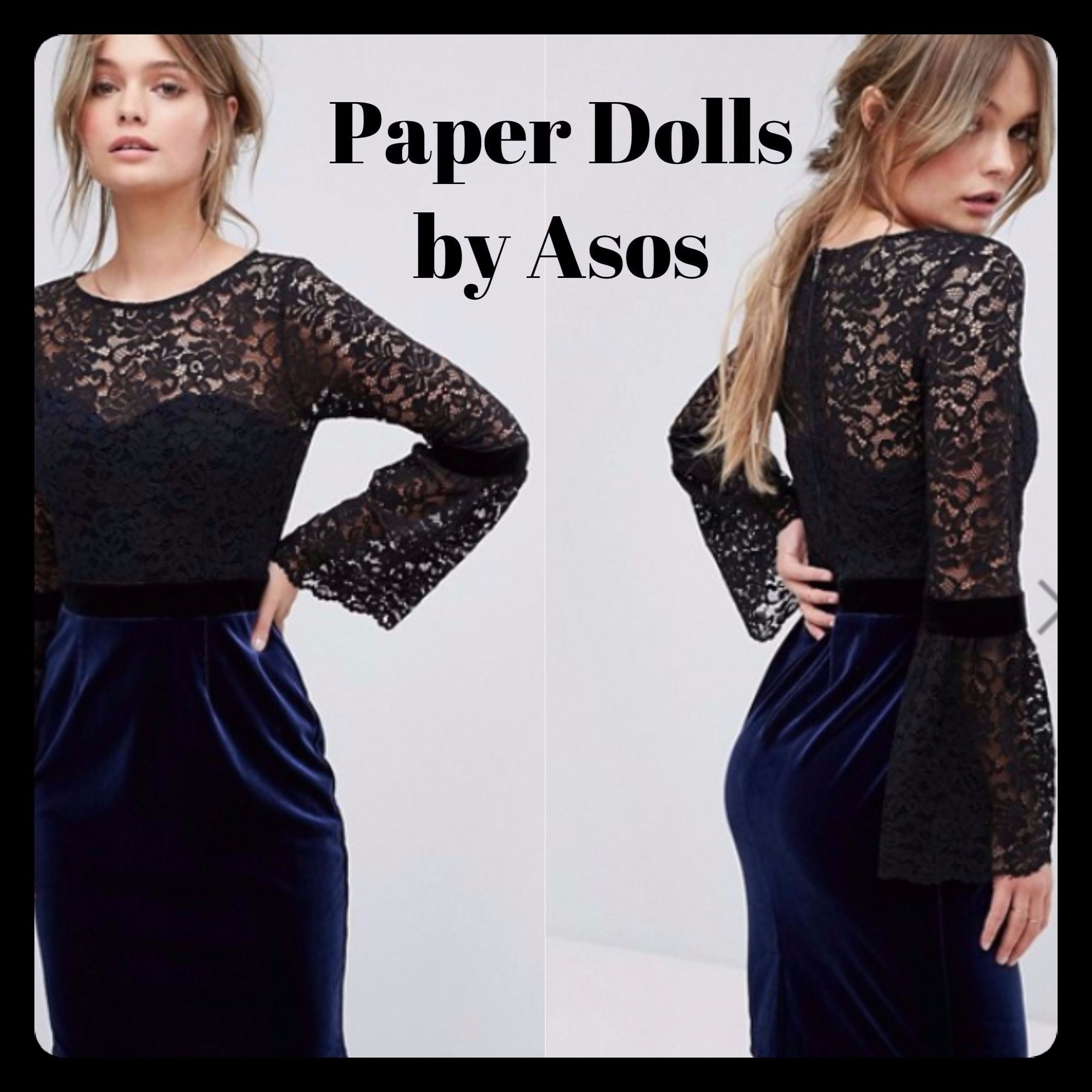 ☆Paper Dolls 2/1 Midi Lace Dress☆☆送関込☆ ☆日本未入荷☆