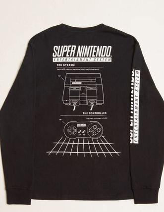Forever21 Tシャツ・カットソー Super Nintendo Long-Sleeve Tee(2)