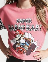 Girls Super Mario Kart Graphic Tee (Kids)