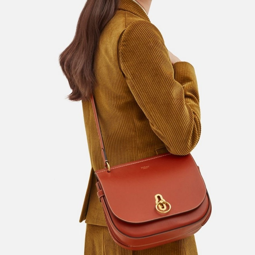 Mulberry☆Amberley Satchel Silky Calf サッチェルバッグ