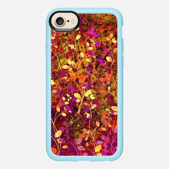 ☆Casetify iPhone6/7/8 クラシカルケース AMONGST THE FLOWERS