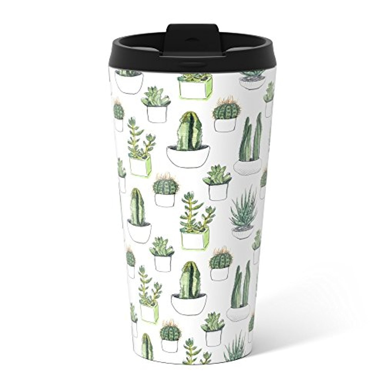 ◎送料込み◎ Society6 Watercolour Cacti And Succulent Metal