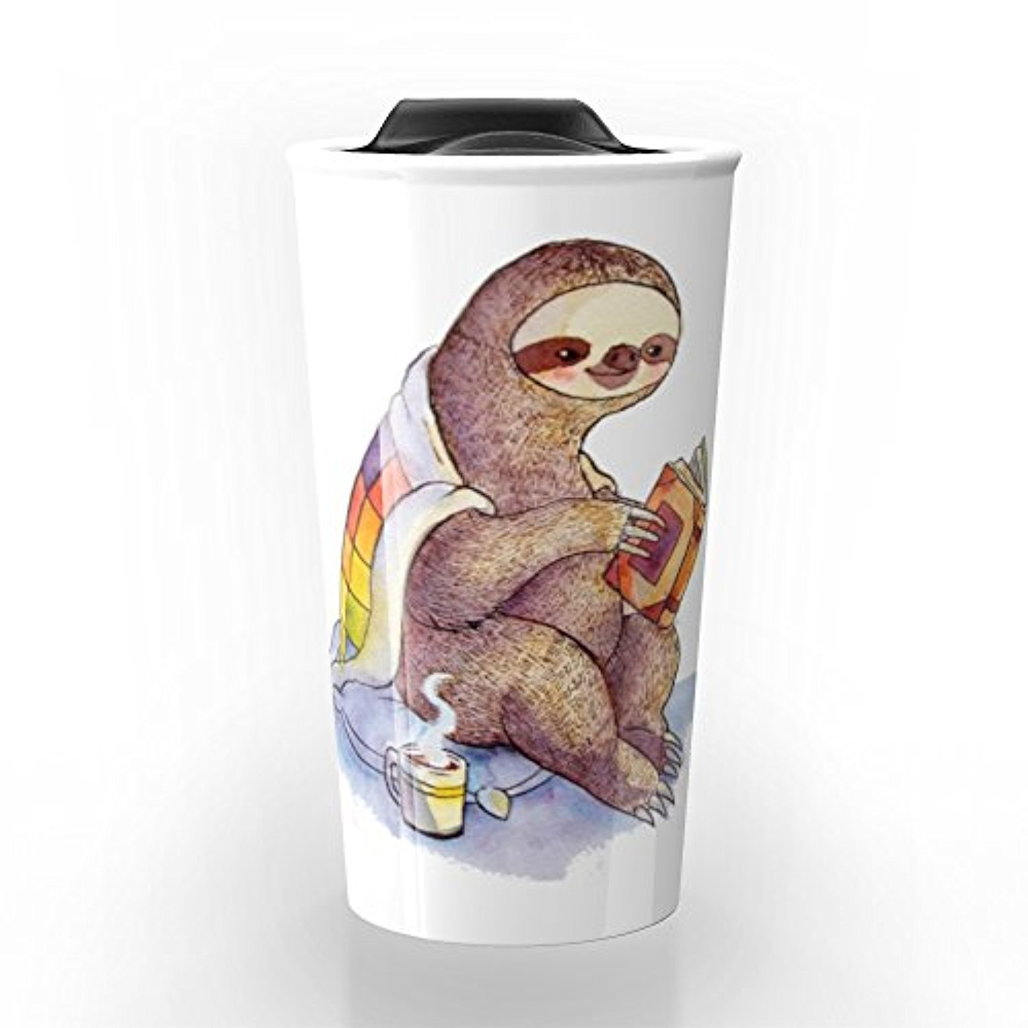 ◎送料込み◎ Society6 Sloth Travel Mug 12 oz