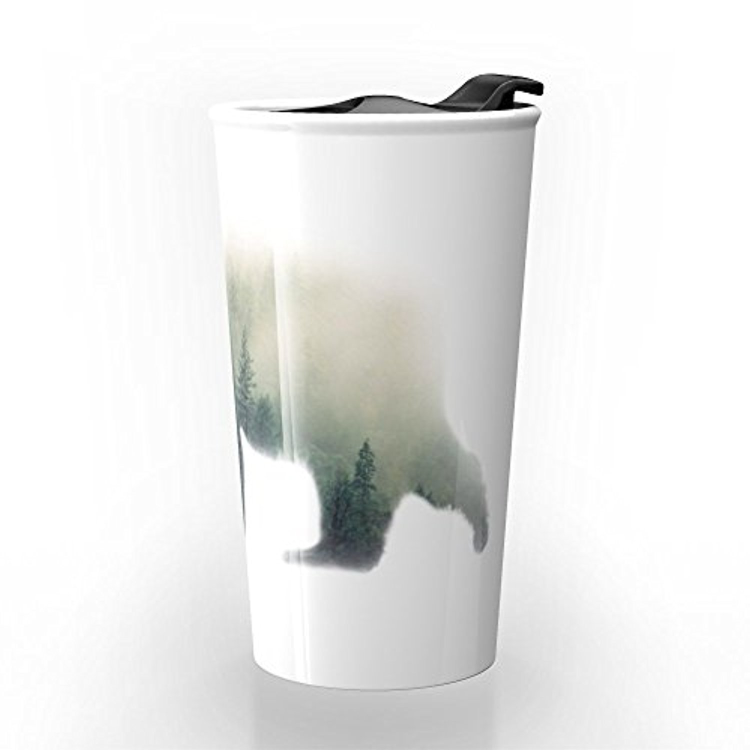 ◎送料込み◎ Society6 Grizzly Bear Dream Travel Mug 12 oz