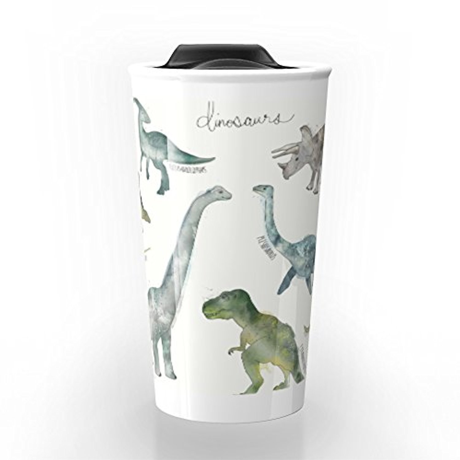 ◎送料込み◎ Society6 Dinosaurs Travel Mug 12 oz