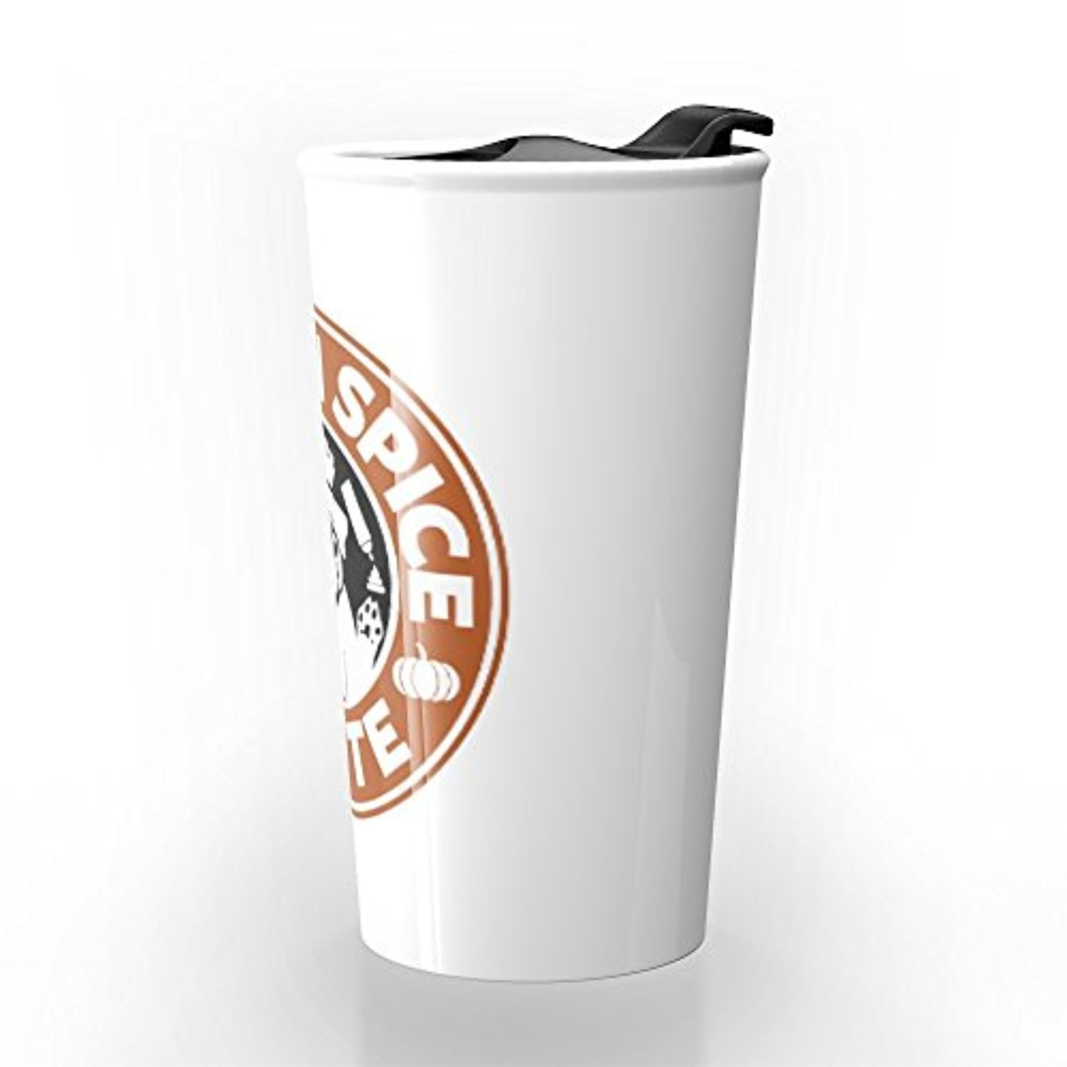 ◎送料込み◎ Society6 Pugkin Spice Latte Travel Mug 12 oz