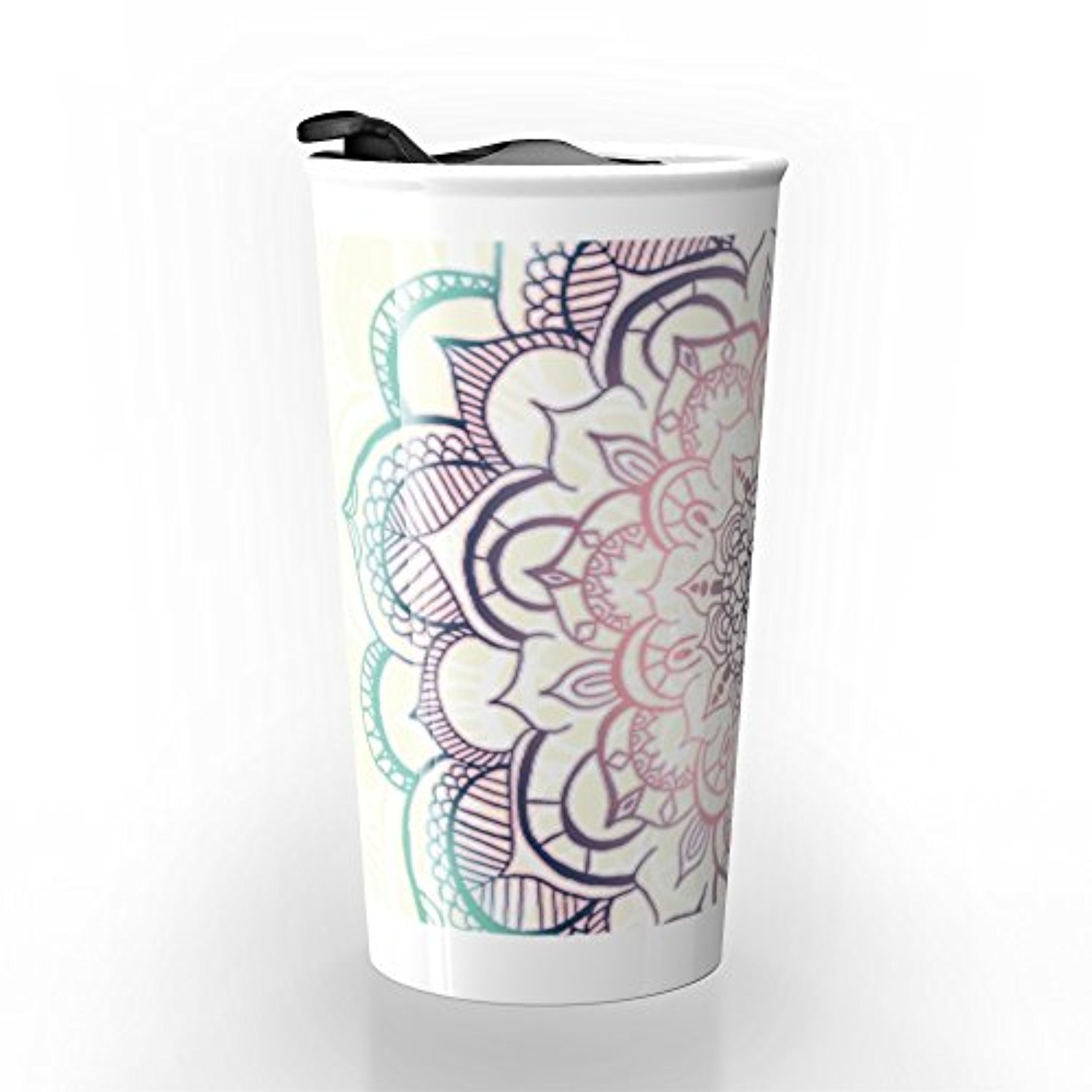 ◎送料込み◎ Society6 Mermaid Medallion Travel Mug 12 oz