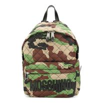 【  Moschino 】 Camouflage Logo Backpack