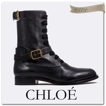 【Chloe】Otto lace-up booties レースアップ ブーツ