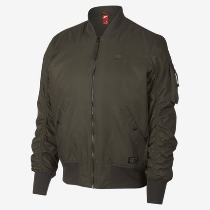 FW17 NIKE AF1 AIR FORCE 1 JACKET OLIVE MEN'S S-3XL 送料無料