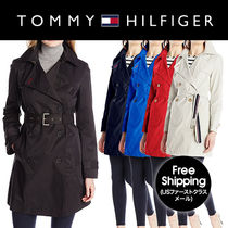 ♦Tommy Hilfiger♦ Trench Coat with Striped Belt