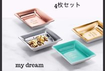 Tiffany & Co★Metallic Vide Poche  4枚セット♡