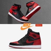 "NIKE AIR JORDAN 1 RETRO HIGH OG BRED 2016 ""BANNED """