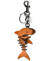 COACH/Small Sharky Puzzle Bag Charm★キーホルダー★シャーク