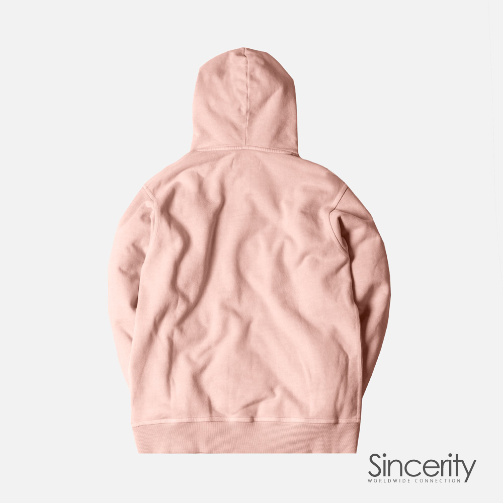 KITH CLASSIC LOGO HOODIE / PINK / SMALL