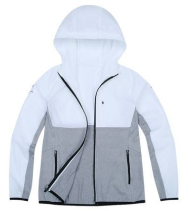 (ザノースフェイス)WS PYEONGCHANG ZIP UP JACKET GREY ODJ5JI31