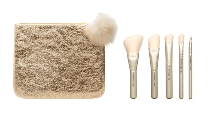 【MAC(マック)】 Snow Ball Mini Lipstick Kit & Brush Kit