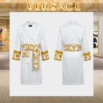 【18SS NEW】 VERSACE_men /I ♡ BAROQUE バスローブWH
