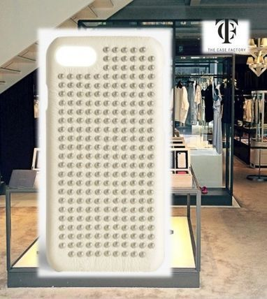 THE CASE FACTORY★IPHONE 7/8 BORCHIE NAPPA IVORY