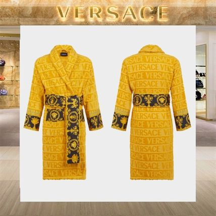 【18SS NEW】 VERSACE_men /I ♡ BAROQUE バスローブGO