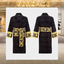 【18SS NEW】 VERSACE_men /I ♡ BAROQUE バスローブBK